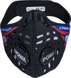 Maska antysmogowa Respro Ce Cinqro Black r. M