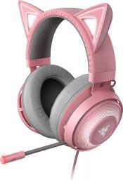 Słuchawki Razer Kraken Kitty Edition Quartz (RZ04-02980200-R3M1)