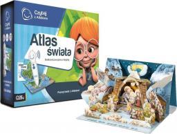 Albi Czytaj z Albikiem Zestaw z Atlasem Świata + Szopka