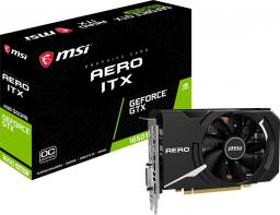Karta graficzna MSI GeForce GTX 1650 SUPER Aero ITX OC 4GB GDDR6 (GTX 1650 SUPER AERO ITX OC)
