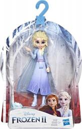 Hasbro Mini laleczka Elsa 10 cm Frozen Kraina Lodu 2 + Konfetti (E6305)