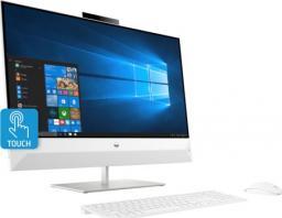 """Komputer HP 27"""" FHD i7-9700T GTX1050 8GB 512GB SSD Win10 Biały Dotykowy 27-xa0021nw (7SJ33EA)"""