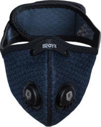 Maska antysmogowa Broyx Alfa navy blue r. L