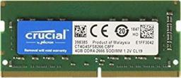 Pamięć do laptopa Micron 4 GB 3200 MHz DDR4 (pc4-3200 aa-sc0-11) - demontaż