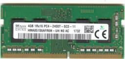 Pamięć do laptopa SK-Hynix 4GB 2400 MHz DDR4 (PC4-2400T-SC0-11) - demontaż