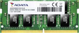 Pamięć do laptopa ADATA DDR4 4GB 2666MHz CL19 (AD4S266638G19-S) - demontaż