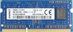 Pamięć do laptopa Kingston DDR3 4GB 1600MHz CL11 (HP16D3LS1KBGH/4G) - demontaż