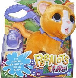 Hasbro Peealots Big Wags Cat brązowy (E8949)