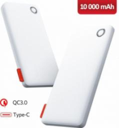 Powerbank Benks 10000mAh Quick Charge PB11 biały