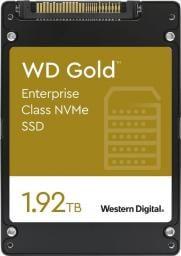 Dysk SSD Western Digital Gold 1.92 TB U.2 PCI-E x4 Gen3.1 NVMe (WDS192T1D0D)