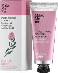Make Me Bio Garden Roses - Peeling do Twarzy z Kwasami Kwiatowymi (40 ml)