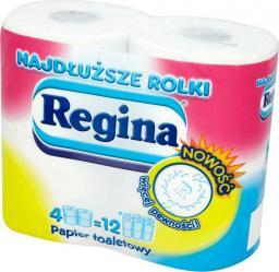 Regina papier toaletowy Najdłuższe rolki 4 sztuki