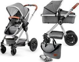 Wózek KinderKraft Wózek wielofunkcyjny 2w1 Veo gray