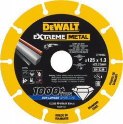 Dewalt Tarcza diamentowa do metalu Extreme Metal 125x22.23x1.3mm (DT40252-QZ)