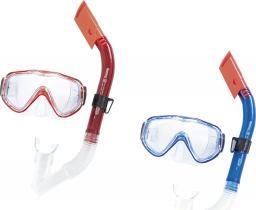 Bestway Maska z rurką do nurkowania szkła poliwęglanowe Blue Devil (24028)