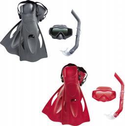 Bestway Zestaw do nurkowania maska, rurka i płetwy Essential Meridian (25031)