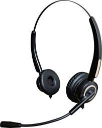 Słuchawki z mikrofonem Mozos VH510D USB