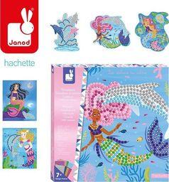 Janod Zestaw kreatywny Mozaika Delfiny i syreny (J07902)