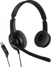 Słuchawki z mikrofonem Axtel Voice USB28 HD duo NC
