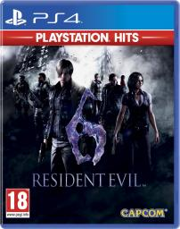 Resident Evil 6 PlayStation Hits PS4