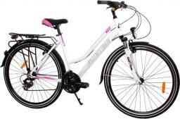 Goetze Rower trekkingowy Tour biało-różowy