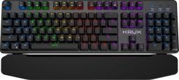 Klawiatura Krux Meteor RGB Brown KRX0026