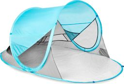 Spokey Namiot plażowy Stratus samorozkładający z filtrem  UV niebieski (926782)