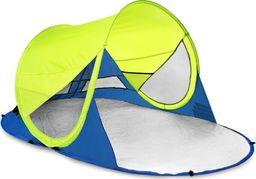 Spokey Namiot plażowy Stratus samorozkładający z filtrem  UV zielono-granatowy (926783)