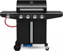 KOLER grill gazowy Relish V1 z rusztem żeliwym 4.1 - czarny + Fartuch Gratis!