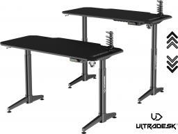 Biurko Ultradesk Level czarne (UDESK-LVA-BB)