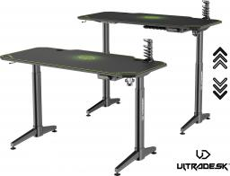 Biurko Ultradesk Level zielone (UDESK-LVA-GN)