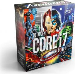 Procesor Intel Core i7-10700K, 3.8GHz, 16 MB, BOX, Avengers Edition (BX8070110700KA)