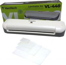Laminator VeroTech VL-440 + zestaw folii startowych (VL-440___SET_10A4_10A5_10CRED)