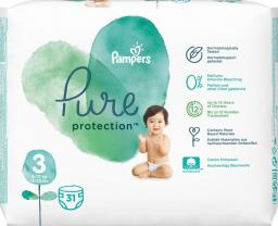 Pampers Pieluchy Pure Protection r. 3 31 szt.