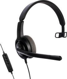 Słuchawki z mikrofonem Axtel Voice UC28 mono NC (AXH-V28UCM)