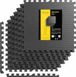 4fizjo Mata puzzle pod sprzęt 6 szt. (czarna)
