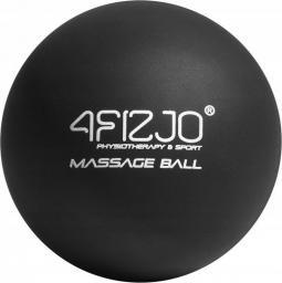 4fizjo Piłka do masażu Lacrosse czarna