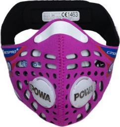 Maska antysmogowa Respro CE Cinqro Pink r. M