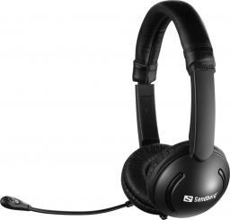 Słuchawki z mikrofonem Sandberg MiniJack Headset Saver (326-15)