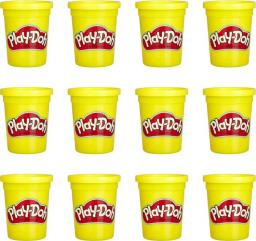 Hasbro Play-Doh 12 Pack Case Of Yellow (E4829)