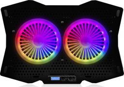 Podstawka chłodząca Modecom Silent Fan MC-CF18 RGB (PL-MC-CF-18-RGB)