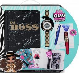 MGA LOL Surprise OMG Sekretny Pamiętnik z zegarkiem Fashion Journal (571278)