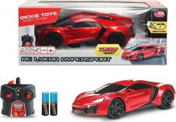Dickie Auto RC Lykan Hypersport GT-R czerwone