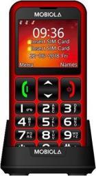 Telefon komórkowy Mobiola MB700 czerwony