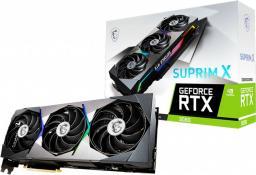 Karta graficzna MSI GeForce RTX 3080 Suprim X 10GB GDDR6X (RTX 3080 SUPRIM X 10G LHR)