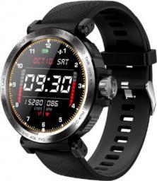 Senbono Zegarek sportowy Smartwatch S18 SMART czarny