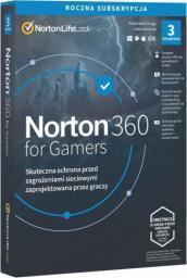 Norton 360 for Gamers 3 urządzenia 12 miesięcy  (21415810)