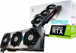 Karta graficzna MSI GeForce RTX 3070 Suprim 8GB GDDR6 (RTX 3070 SUPRIM 8G)