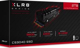 Dysk SSD PNY XLR8 CS3040 2 TB M.2 2280 PCI-E x4 Gen4 NVMe (M280CS3040HS-2TB-RB)
