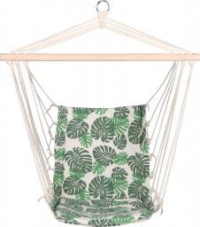 Royokamp  Hamak fotel brazylijski Natura 100x50cm z wszytą poduszką zielony